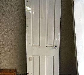 mid century closet door salvage and repurpose doors painted furniture repurposing upcycling & Repurposed Mid-Century Closet Door to Meditation Shrine | Hometalk