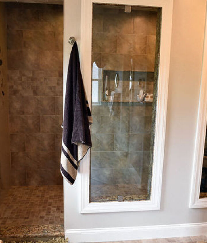 who doesn t like a tree in the shower, bathroom ideas, painting, wall decor