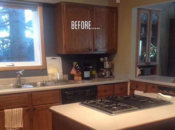Beautiful How To Spruce Up Kitchen Cabinets Photo - Home Design ...