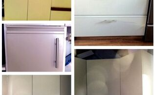 painting kitchen cabinets kitchen re do for 150 00, kitchen cabinets, kitchen design, painting