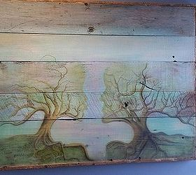 Can You See What S In This Barnwood Art, Wall Decor