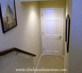 the power of paint and stain updating our back staircase doors painting stairs & Painting and Staining: Updating Back Staircase   Hometalk