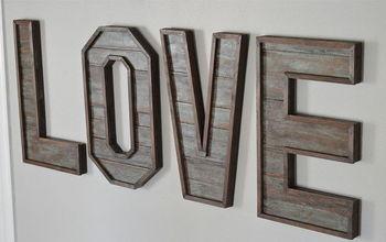 Pallet Wood Letters