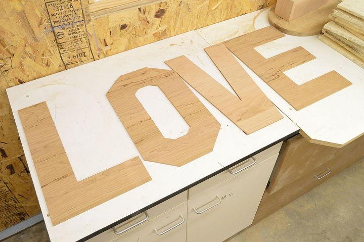 Pallet Wood Letters Hometalk