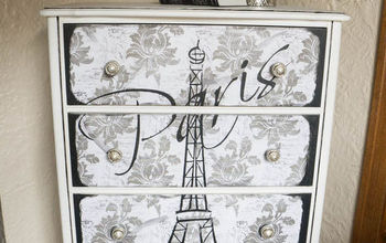 Creating an Eiffel Tower Dresser!