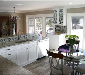 Comfortable Glamour Exists And It S In This Nj Kitchen Remodel, Home  Improvement, Kitchen