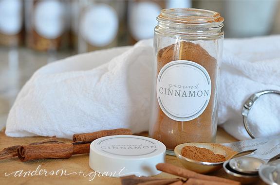 printable spice jar labels to help organize your kitchen, crafts, kitchen design, organizing