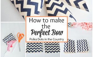 easter bow tutorial how to make the perfect bow, crafts, easter decorations, how to, seasonal holiday decor