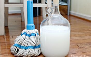 DIY Wood Safe Floor Cleaner