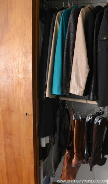 easy diy hanging closet rod, closet, how to, organizing, storage ideas, urban living