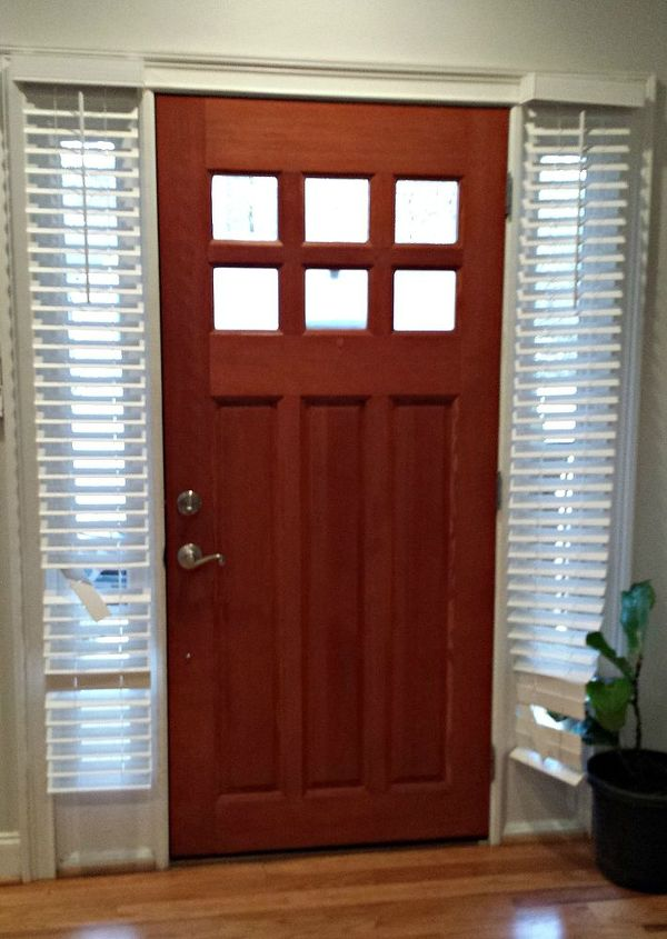 diy side light curtains, doors, how to, reupholster, window treatments, windows
