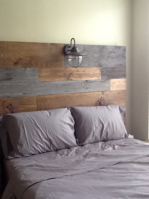 Barn Wood and Rustic Plank Headboard by Vintage Headboards ...