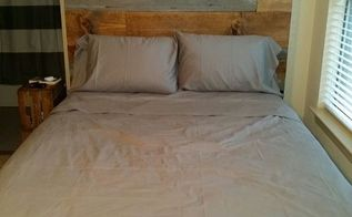 barn wood and rustic plank headboard by vintage headboards, bedroom ideas, painted furniture