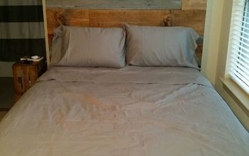 Barn Wood and Rustic Plank Headboard by Vintage Headboards