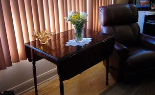 grandparent s table refurbished with love, painted furniture