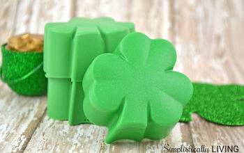 homemade shamrock soap, crafts, how to, seasonal holiday decor