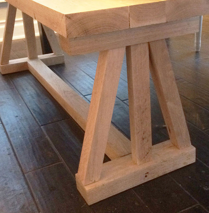 easy diy dining bench, diy, how to, painted furniture, rustic furniture, woodworking projects