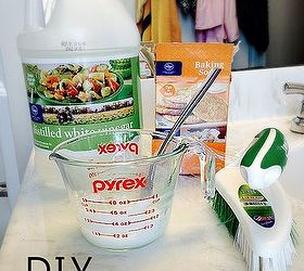 Diy Natural Bathtub Cleaner, Bathroom Ideas, Cleaning Tips, Go Green
