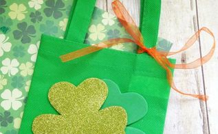 st patrick s day treat bag, crafts, how to, seasonal holiday decor