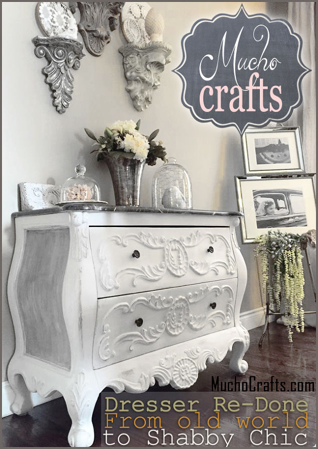 Diy Shabby Chest Project Painted Furniture Repurposing Upcycling Chic