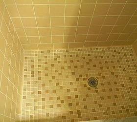 Epoxy Paint Shower Floor Tile Designs