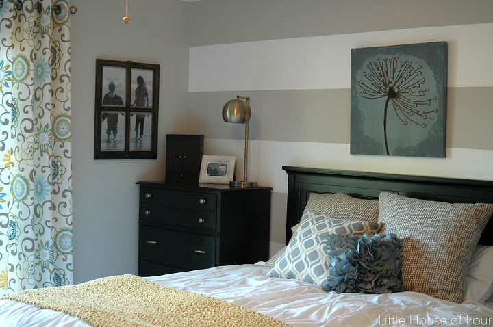 Aqua Gray And Yellow Master Bedroom Makeover Ideas Paint Colors Painting
