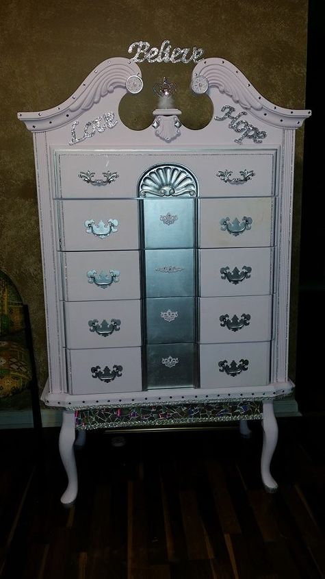 2 damaged queen anne to 1 piece princess perfect  bedroom ideas  painted  furniture. Damaged Queen Anne Dresser And Table To One Piece Princess Dresser