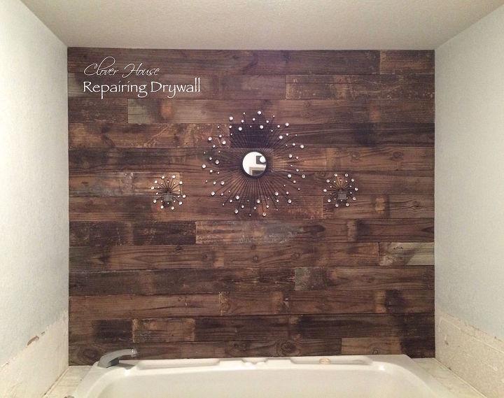 Beautiful Bathroom Wall Makeover Hometalk
