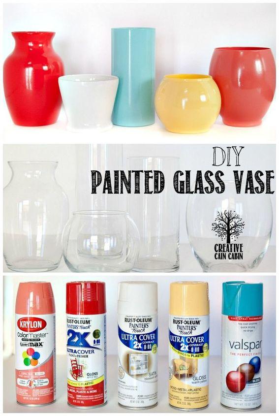 Diy Painted Glass Vases Hometalk