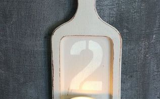 decoart chalky finish paint makeover tea light holder, crafts, repurposing upcycling, wall decor