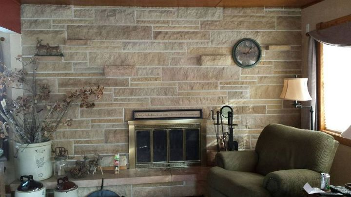 Picture Of Entire Wall There Are Also 3 Stove Shelve Which I Have No