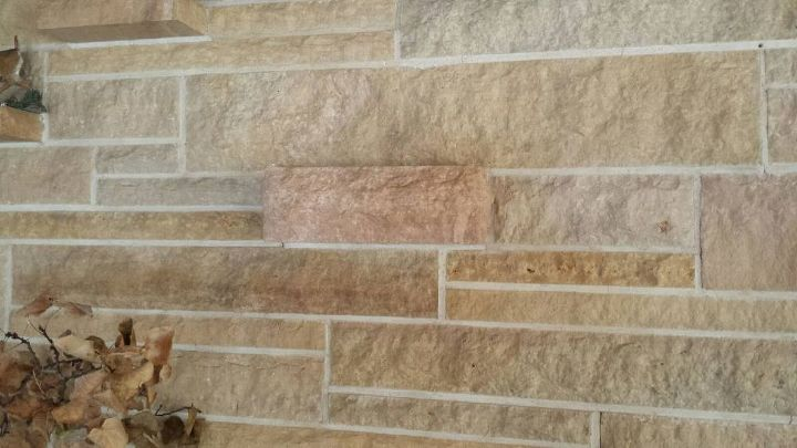 q updating a stone fireplace wall, concrete masonry, fireplaces mantels, living room ideas, wall decor, one of 2 protruding outlets for additional heat to the room