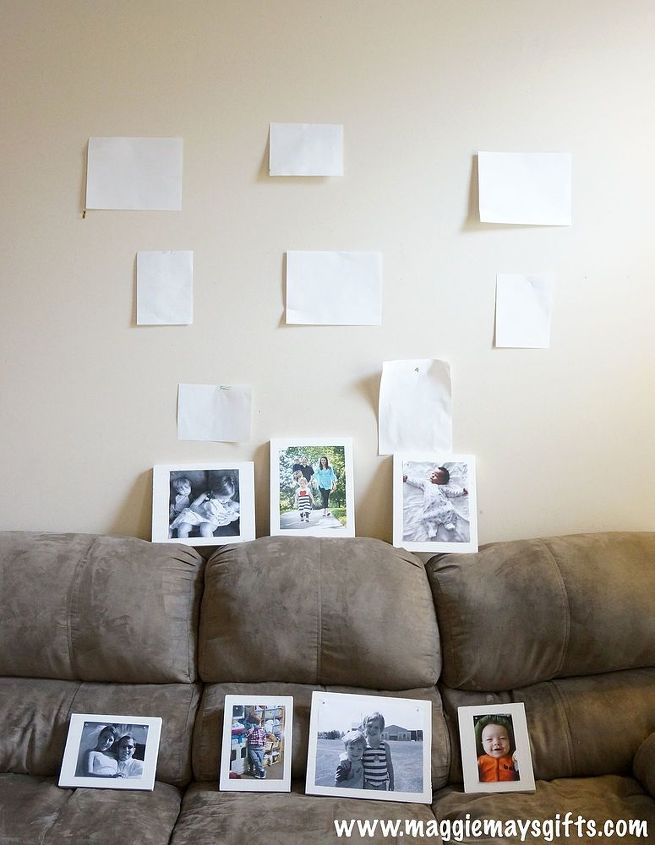 Make Your Own Frames For A Wall Collage | Hometalk