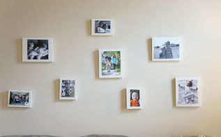 make your own frames for a wall collage, crafts, decoupage, how to, wall decor