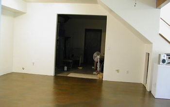 How To Paint Your Concrete Basement Floor to Look Like Slab Flagstone