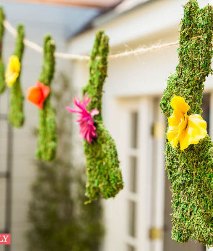 lilyshop how to with jessie jane easter bunny garland, crafts, easter decorations, how to, seasonal holiday decor