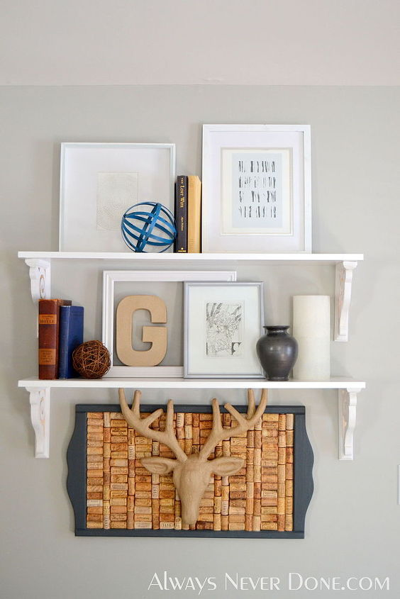 diy wall shelves, shelving ideas, wall decor