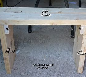 Cool build a rustic bench for diy how to outdoor furniture painted