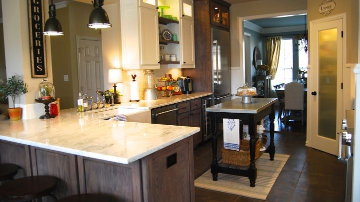 Kitchen Remodel Mixes Modern With Rustic | Hometalk