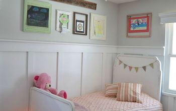 old frames and old table make art gallery wall, bedroom ideas, crafts, repurposing upcycling, wall decor