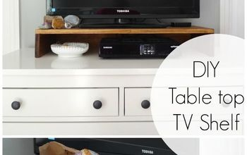 DIY Table Top TV Stand