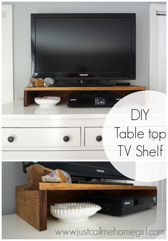 diy table top tv stand, how to, organizing, painted furniture, woodworking projects