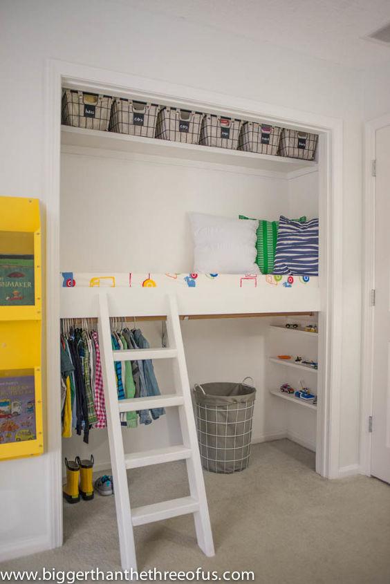 Diy Closet Loft Hometalk