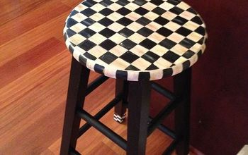 Painting A Stool With A Mackenzie-Childs Look