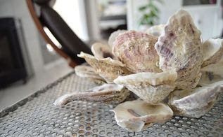what to do with all those saved seashells, crafts, how to, repurposing upcycling