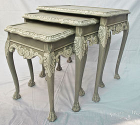 French Style Shabby Chic Nest Of Tables No 22, Chalk Paint, Painted  Furniture,