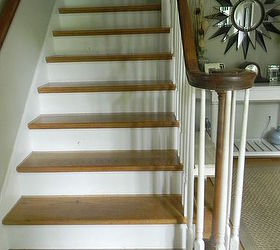 Good Whitewashed Stairs And A Foyer Update, Chalk Paint, Foyer, Painting, Stairs