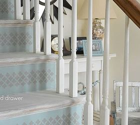 Charming Whitewashed Stairs And A Foyer Update, Chalk Paint, Foyer, Painting, Stairs