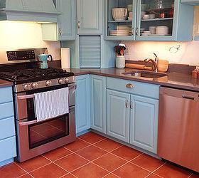 Terracotta Kitchen Remodel, Countertops, Flooring, Home Improvement, Kitchen  Design, Painting