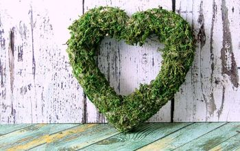 how to cover anything in moss the easy way, crafts, how to, repurposing upcycling